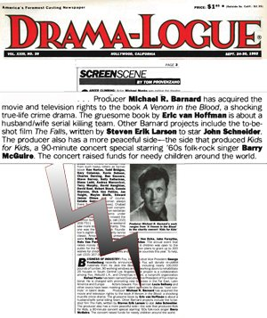 Drama-Logue - Barnard buys A Venom in the Blood