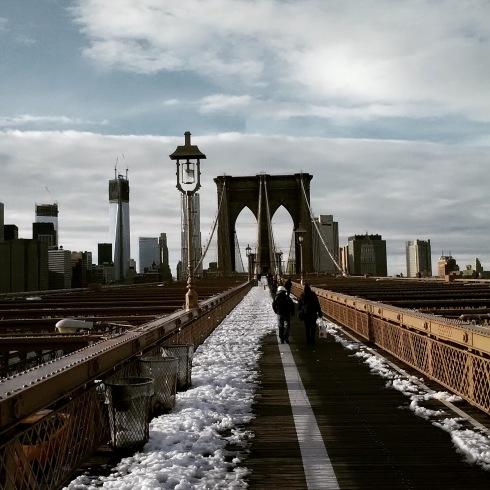 Manhattan from Brooklyn Bridge (c) Michael R. Barnard 2011