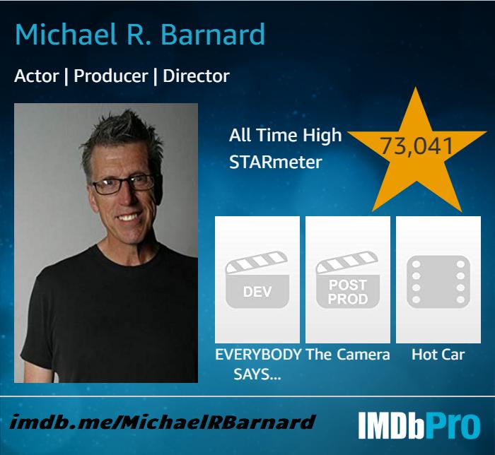 Michael R. Barnard on IMDb http://IMDb.me/MichaelRBarnard